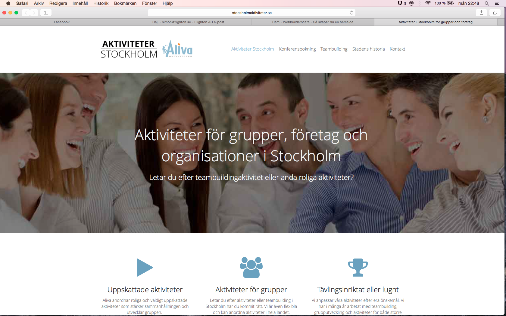 aktiviteter stockholm